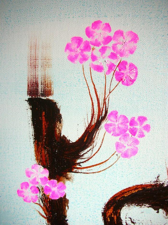 「新日本画 (温泉)」F40、油、2008年