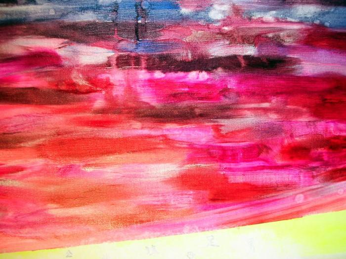 「新日本画 (東京)」M100、油、2008年