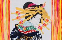 Gogh, Kiyoshiro & Me (Summertime Blues – Tokyo 2020) (detail)