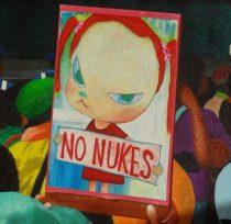 2012年8月17日、国会前「ATOMKRAFT? NEIN DANKE」(原子力?おことわり) (部分)